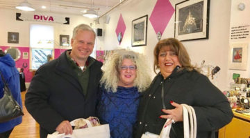 Special Visitors on Small Business Saturday