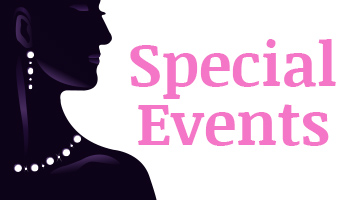Special Events: Ladies Night, Employee Night and Mens Night