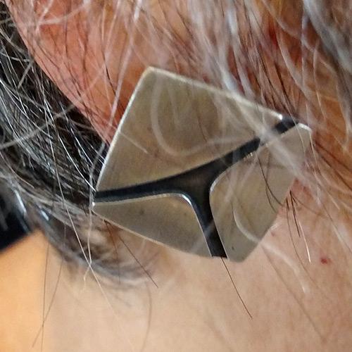 Vintage Lisa Jenks Sterling Earrings