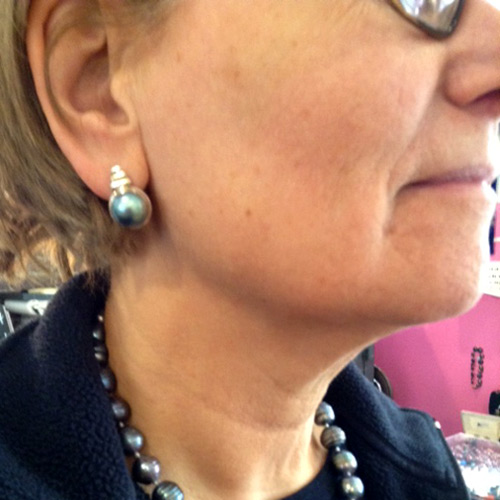 tourmaline pearl earrings margaret thurman