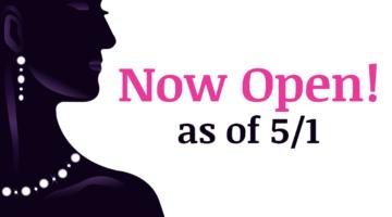 Now Open Tuesdays – Saturdays